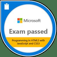 Microsoft 70-480 certificaat