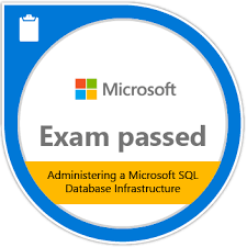 70-764 Administering a SQL database infrastructure